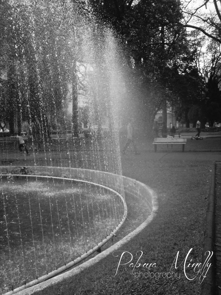 The fountain II by PMinelly