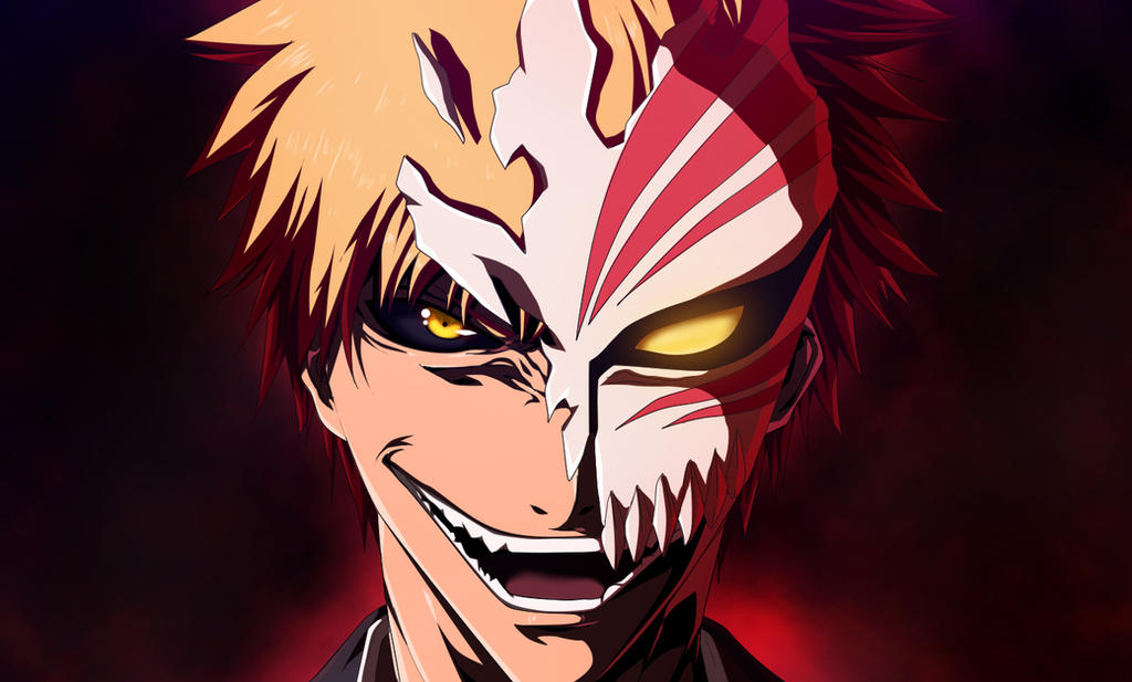 Bleach Kurosaki Ichigo Hollow Mask 6426 By Afran67