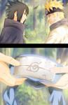 Naruto and Sasuke 699 Collab by afran67