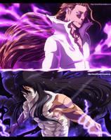 Ichigo Vs Aizen Collab by afran67
