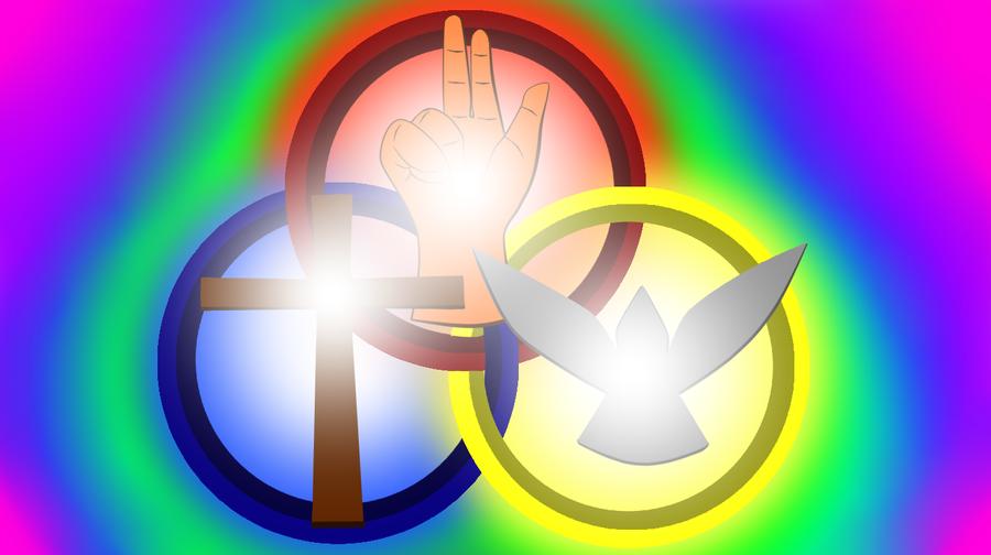 Holy Trinity Symbol By Deathfirebrony On Deviantart