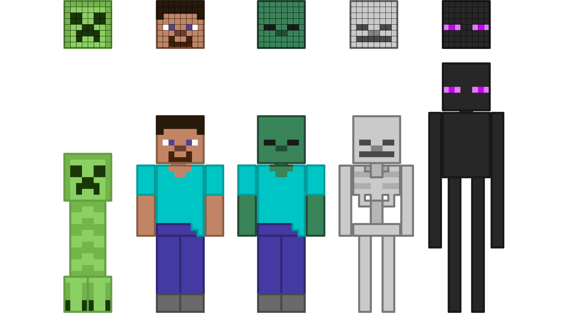 biyugxjjpg. all lego minecraft characters vs videogames side by ... for Minecraft Characters Pictures  589ifm