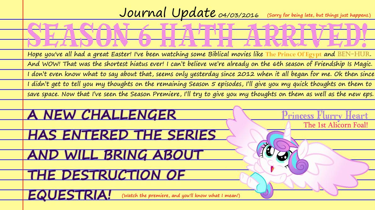 Season 6 Arrival by Kronoxus