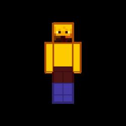 MLP Minecraft Human Blaze