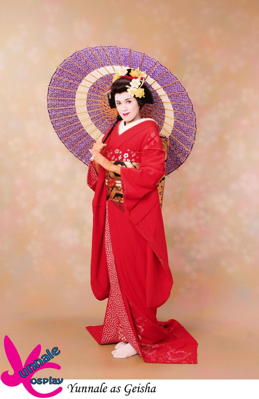 Geisha by Yunnale