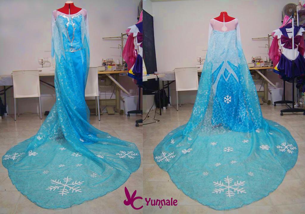 Elsa Dress Frozen by Yunnale
