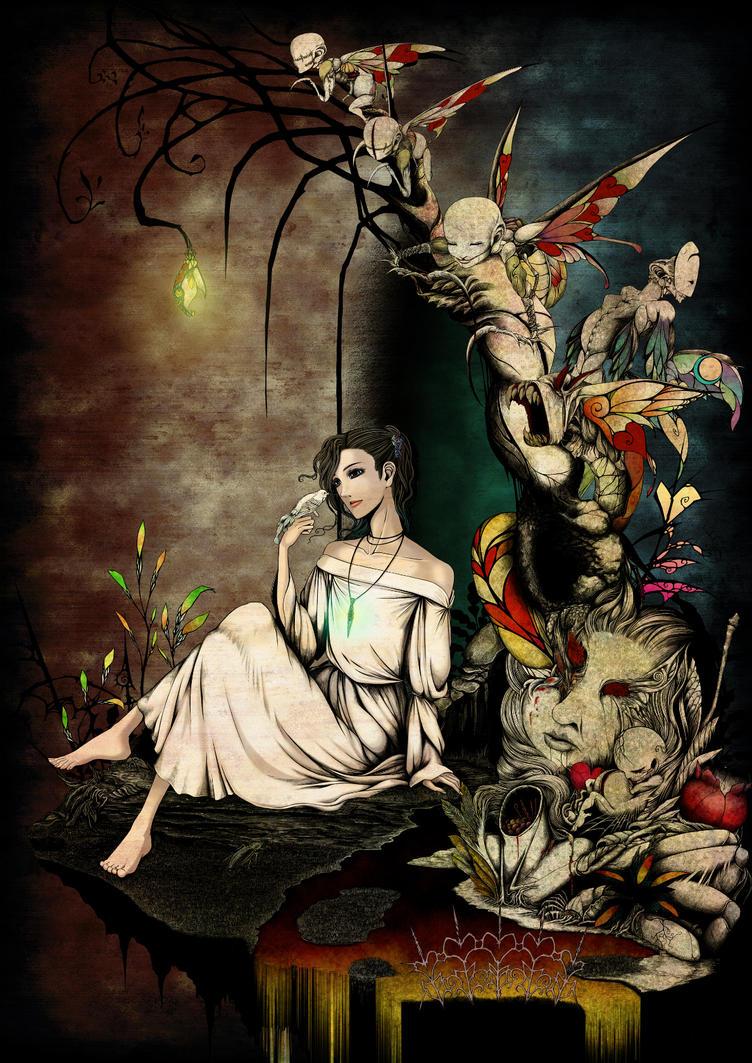 Garden of glass beast by PassionateSnuff
