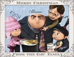 The Gru's Christmas Card