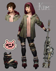 Kim by bopx
