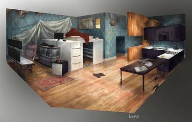 Kim's Room by bopx