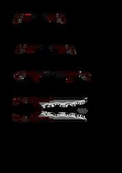 Oc bnha weapons by silverdragon61