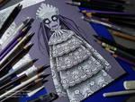 Dead girl by OsennayProhlada