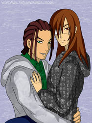 Braig and Dilan by xochibi