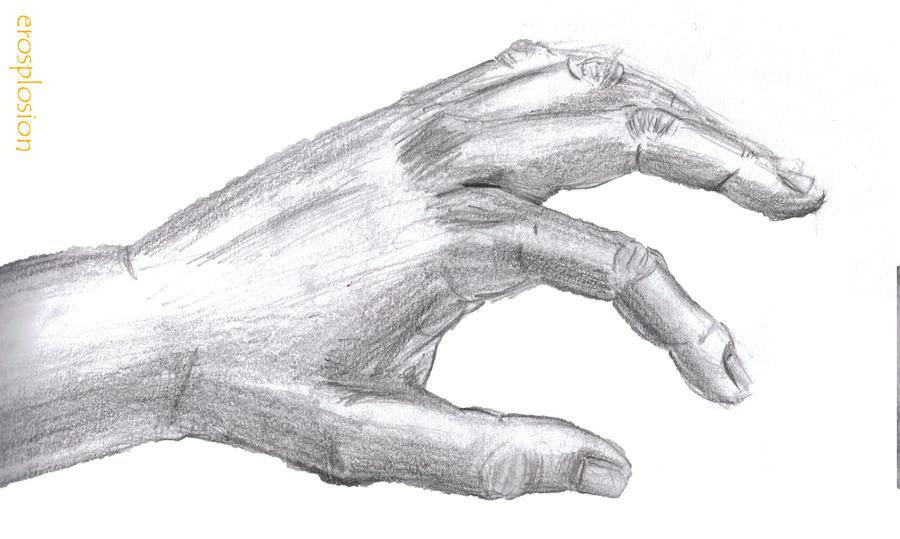 Reaching hand by erovoid on DeviantArt
