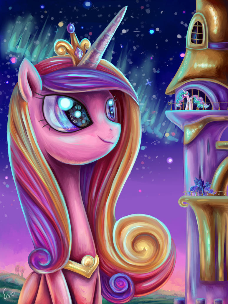 A Starlit Princess by erovoid