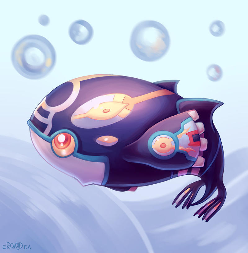 Baby Kyogre by erovoid