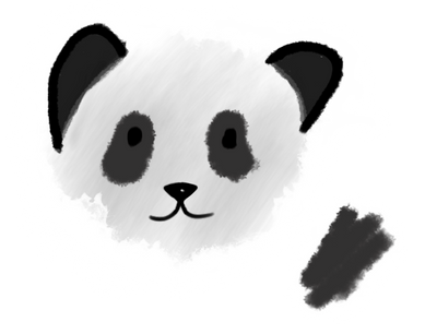 Panda, Ok? (ipad) by Desaminton