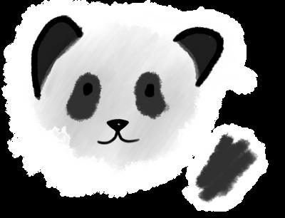 Panda, Ok? (ipad) by Desaminton
