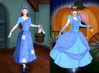 Trysha as Cinderella by PGS-Cinderella
