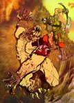 Quake pinup by MrTuke