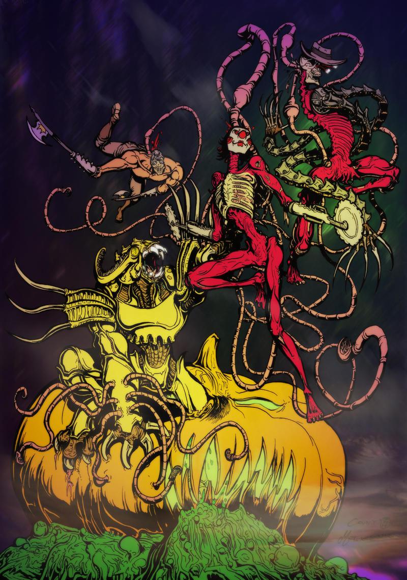 Happy Halloween 2012 by MrTuke