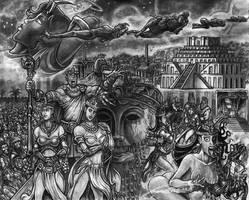 Of the sleep of Relicia by MrTuke