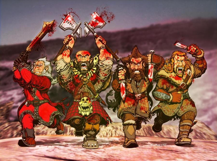 Hobbit Commission by MrTuke
