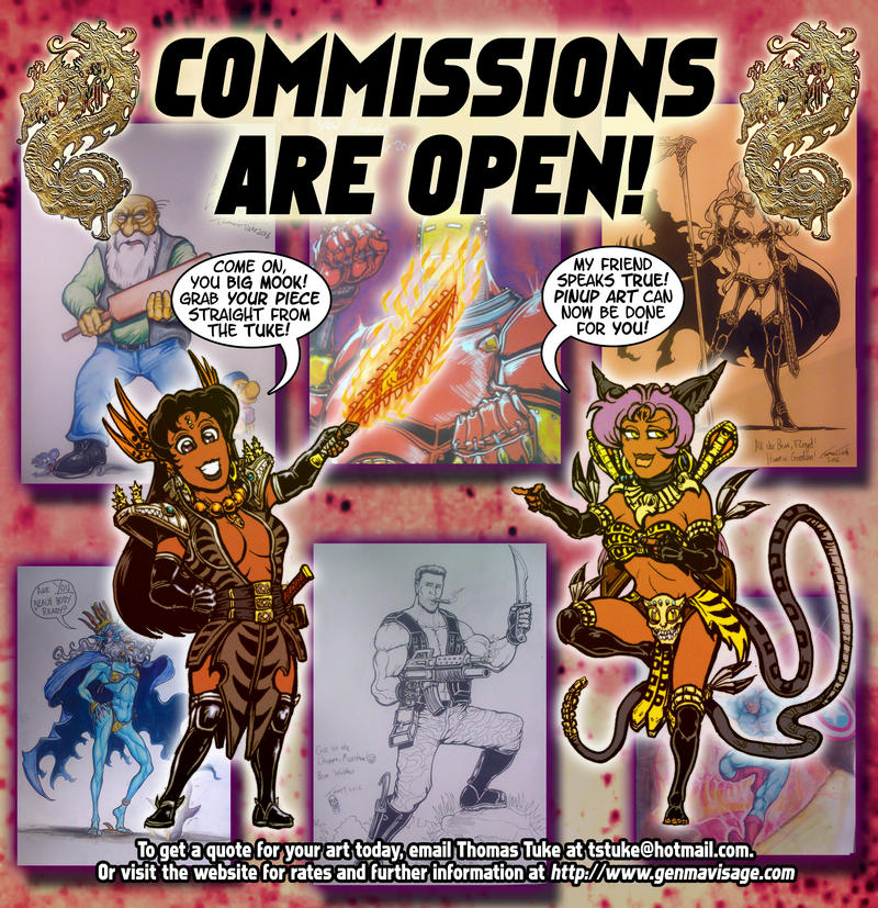 Commission store is now Open! by MrTuke