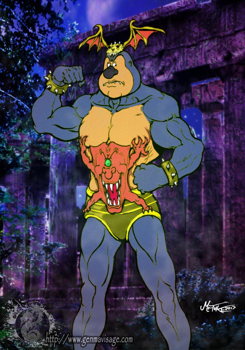 The Strongman by MrTuke