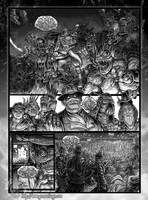 Dr Chimera Comic Page by MrTuke