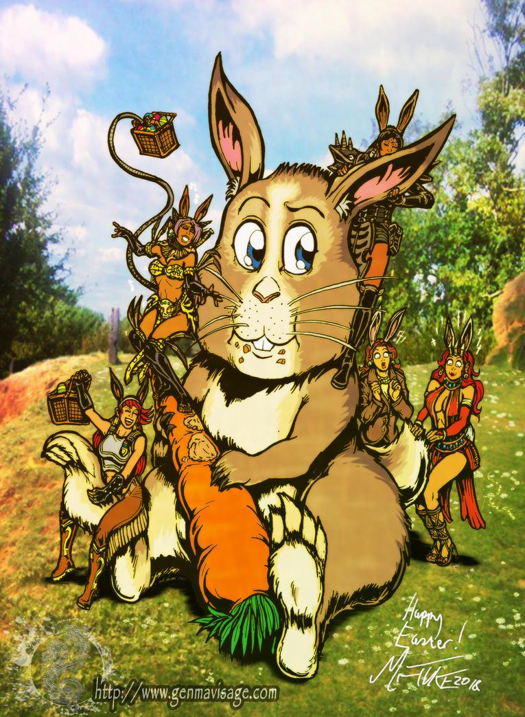 Easter 2018: Giant Bunny Goodness by MrTuke