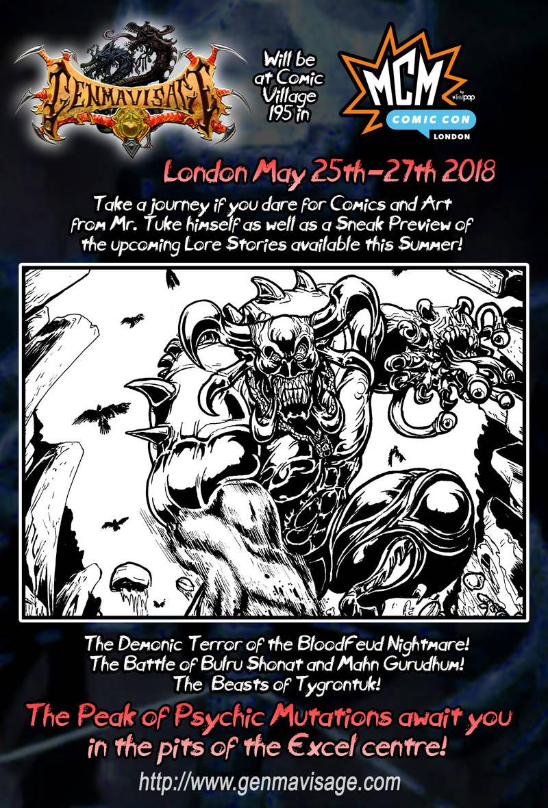 MCM London May 2018 25th -27th Preview by MrTuke