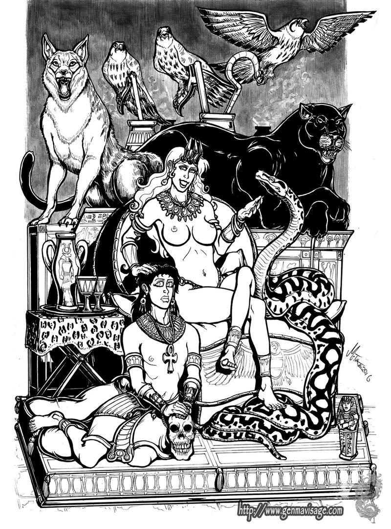 Of Animal taming and Regal Splendour. by MrTuke