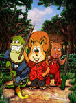 Forest Critters Unite for Art