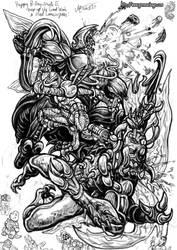 Cyberfrog Sketch