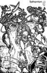 Ghul Decimation - Inks by MrTuke
