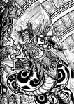 Karti Temple Battle by MrTuke