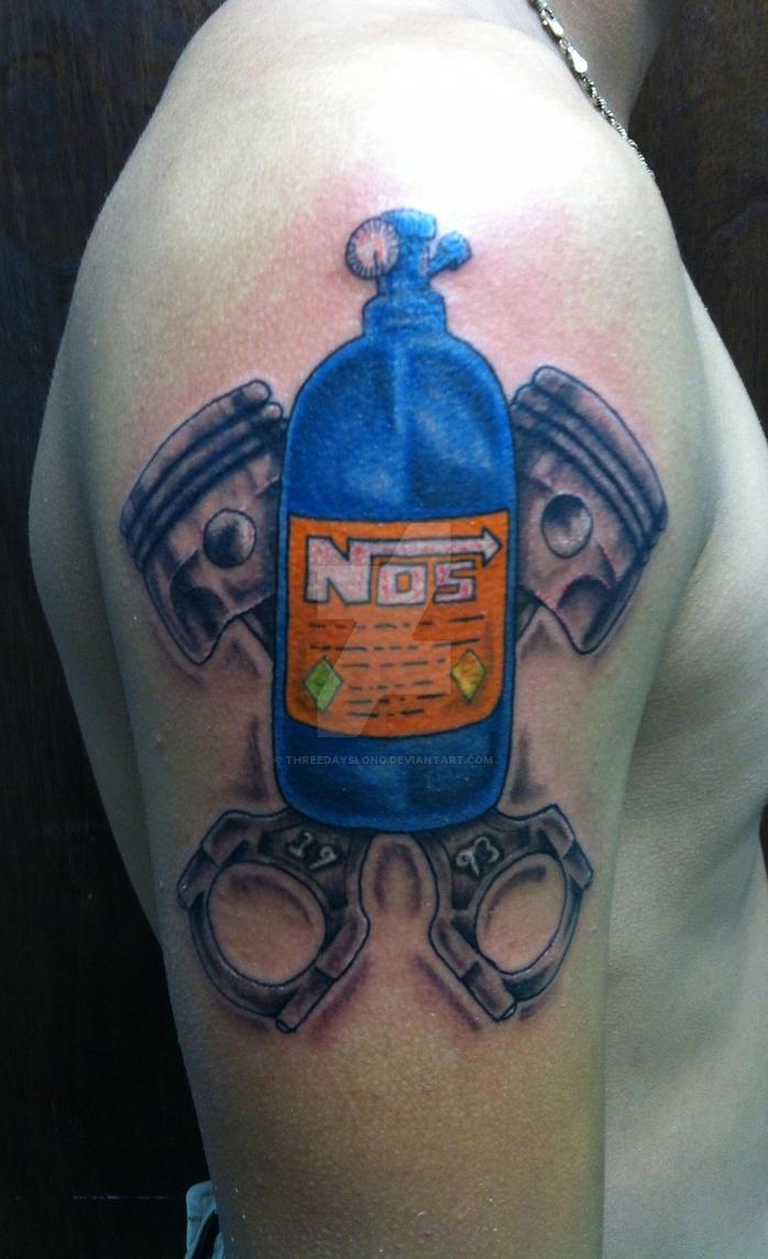 Racing Nos Tattoo By Threedayslong On Deviantart