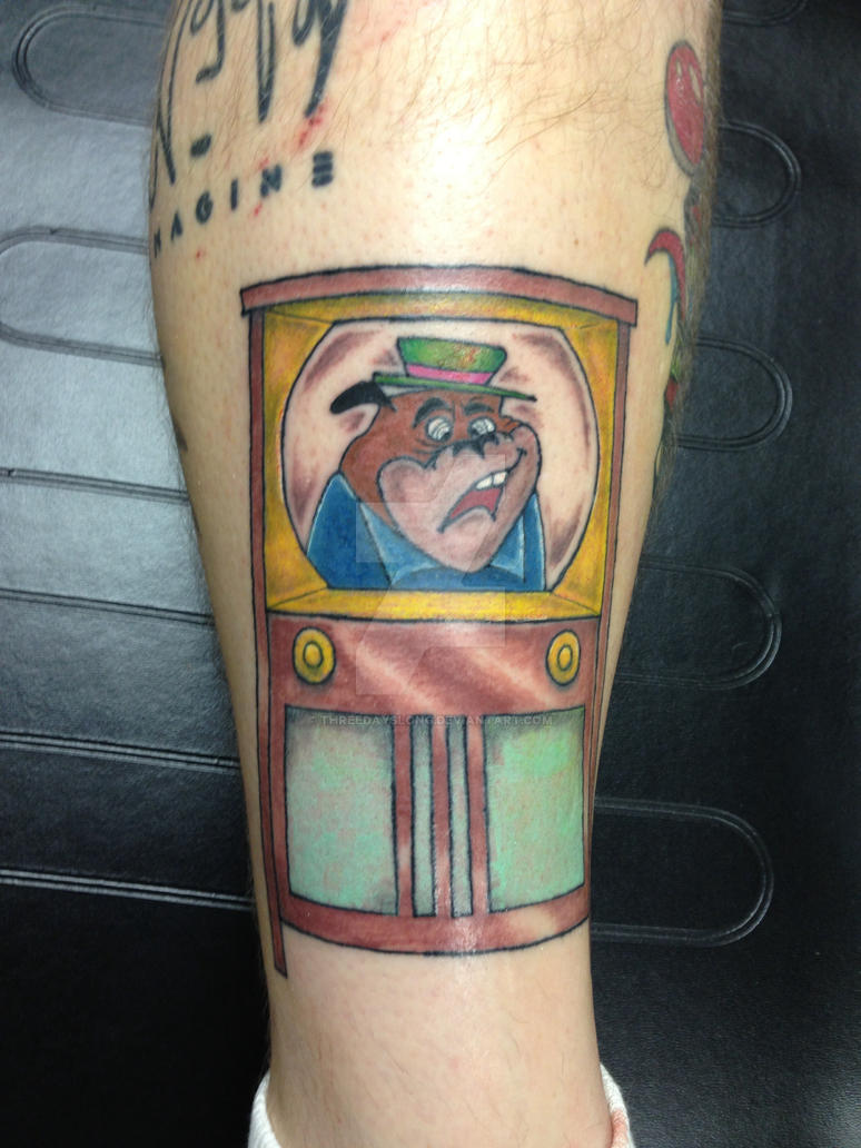 Cartoon Characters Tattoos : Cartoon character tattoo by threedayslong on deviantart