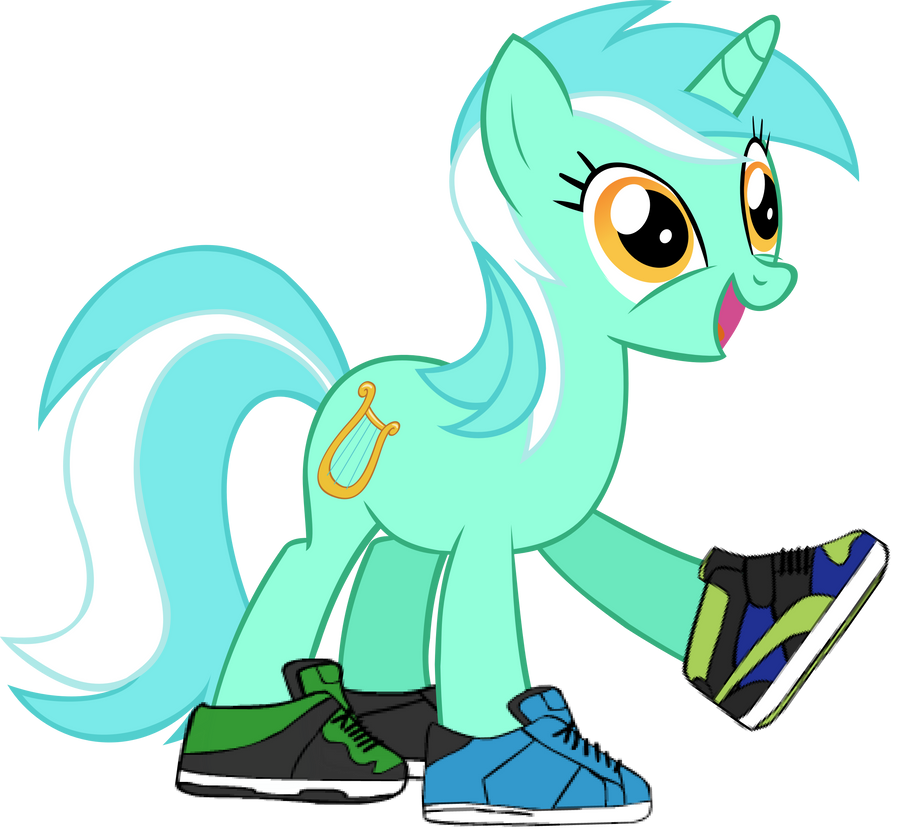 Lyra's New Shoes by dashofrainbow235