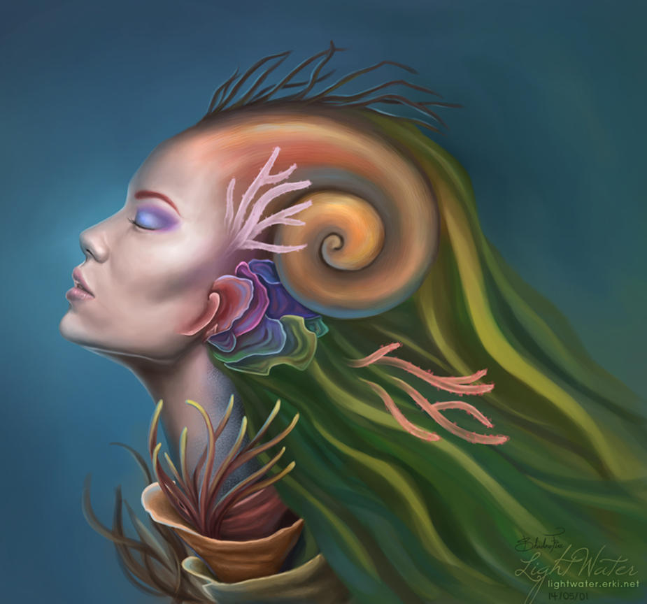 2014: Coral Lady by ShadowFirez
