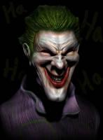 The Joker by CRYart-UK