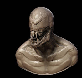 Venom Minus Texture by CRYart-UK