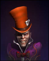 The Mad Hatter by CRYart-UK