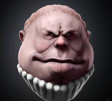 Sketchbook Sculpt: Cupcake by CRYart-UK