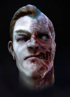 Two-Face Rerender by CRYart-UK