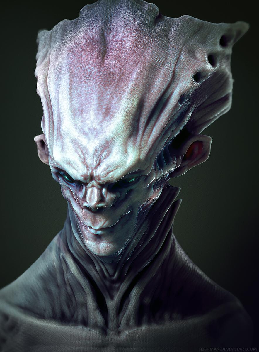 Headpiece Alien by TLishman