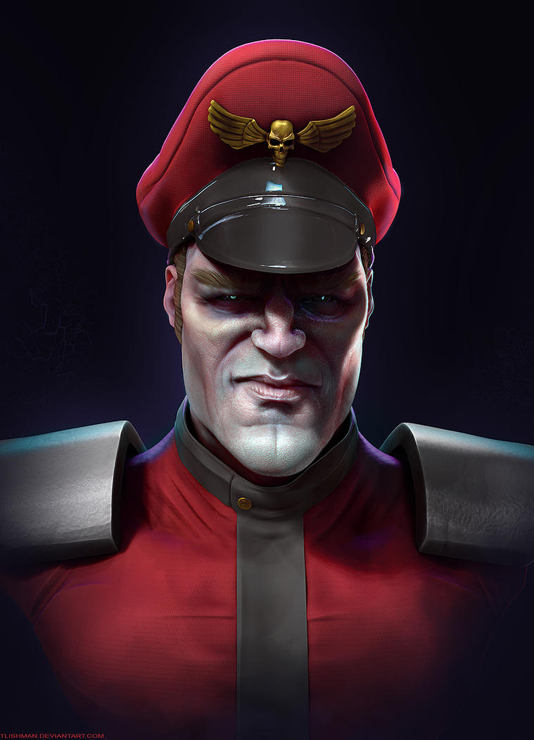 M.Bison by TLishman