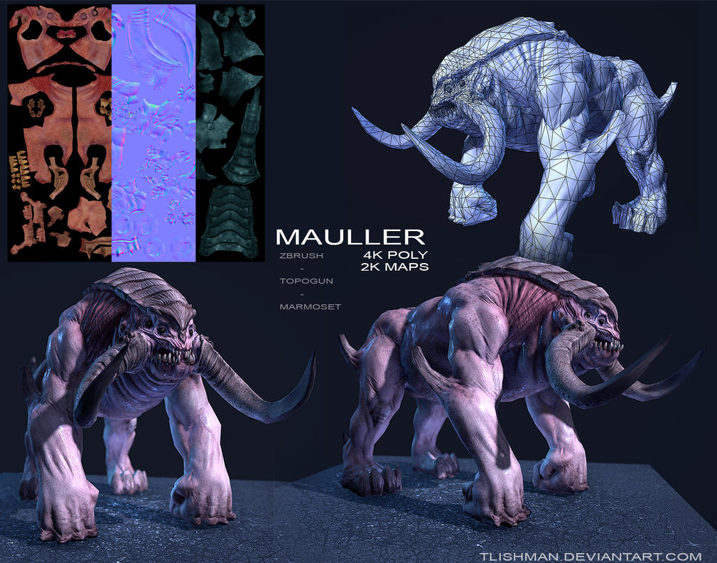 The Mauller by TLishman