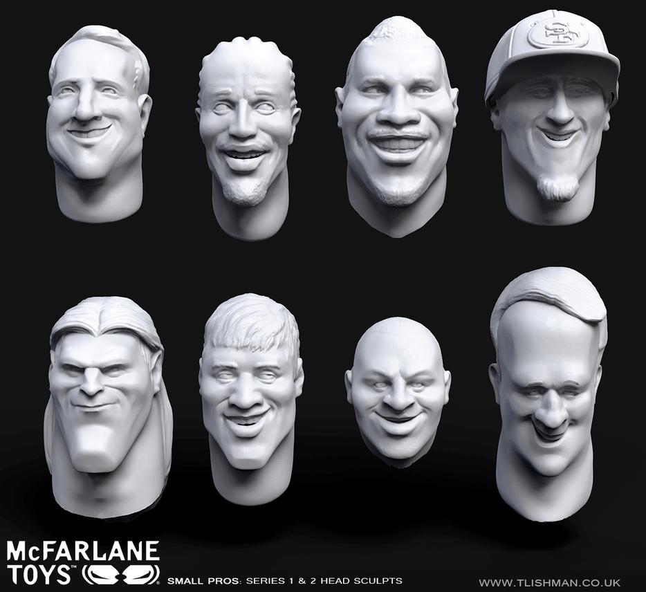 SmallPro Heads - McFarlane Toys by TLishman